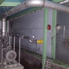 Biokaasun paineenkorotuskompressori