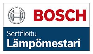 Bosch sertifioitu lämpömestari